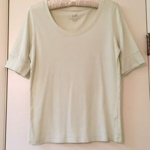 Tops - JJill Pima cotton top
